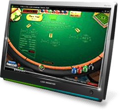 888 casino caribbean poker table
